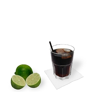 Straws and stirring sticks fit well with Rum and Coke, but are rather uncommon.