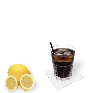 Straws and stirring sticks fit well with Whiskey and Coke, but are rather uncommon.