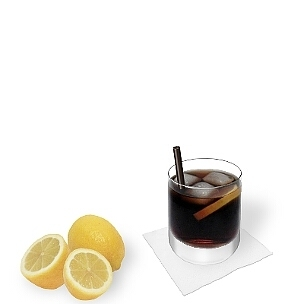 Small-sized long-drink glasses and all kind of tumbler glasses are ideal for Whiskey-Coke.
