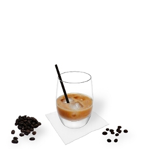 All kind of tumbler glasses are ideal for White Russian.