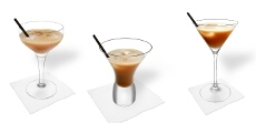Fancy serving suggestions for white Russian