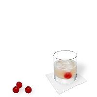 Gin Sour im longdrinkglas.