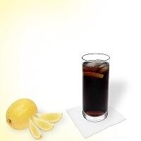 Whisky Cola im longdrinkglas.